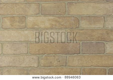 tiles imitating a brick wall, internal wall, texture background