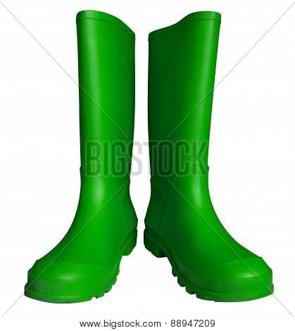 Rubber Boots - Green