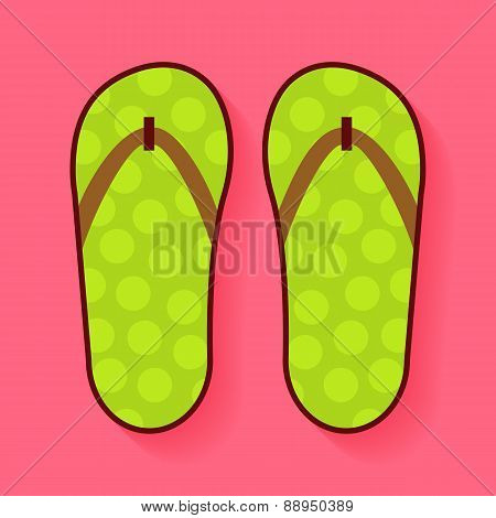 Flat Summer Shoes Flip Flops
