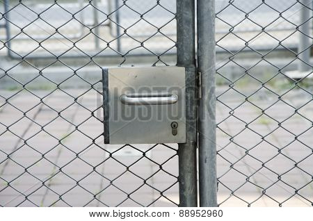 prison cell and security lock