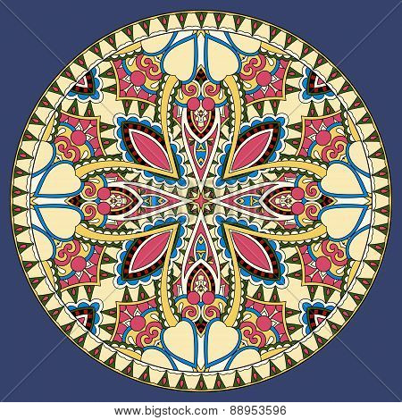 decorative design of circle dish template
