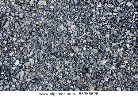 small stone asphalt texture