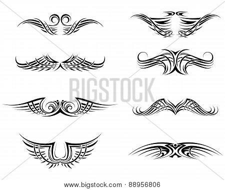 Black Tattoo Set