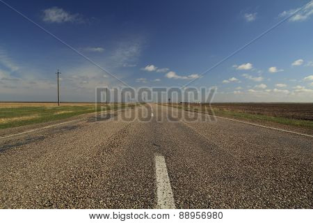 Road In East Europe