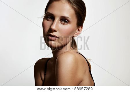 Young Woman With Ideal Skin