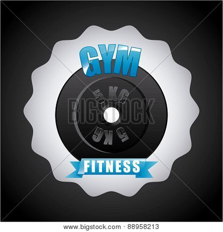 gym label design