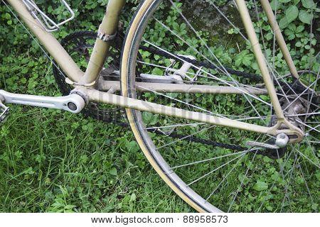 Vintage Italian Road Bicycle