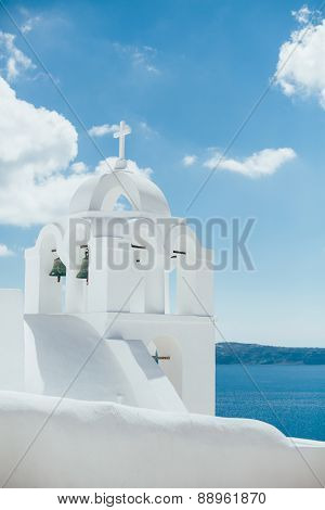 Cathedral in Santorini