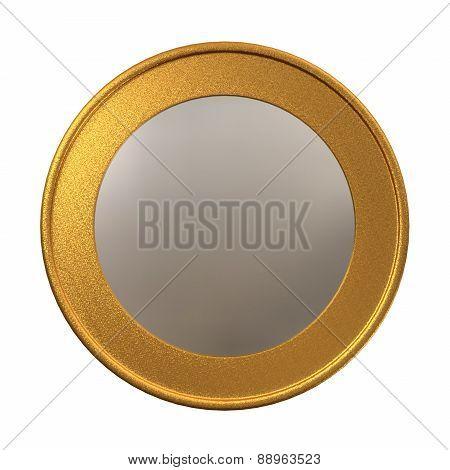 Euro Coin Medal Template