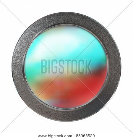 Color Coin Medal Template