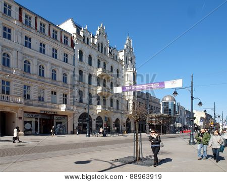 House Szaja Goldblum (1898) on Piotrkowska Street in Lodz.