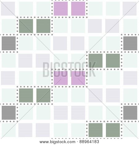 Abstract Seamless Geometric Pattern