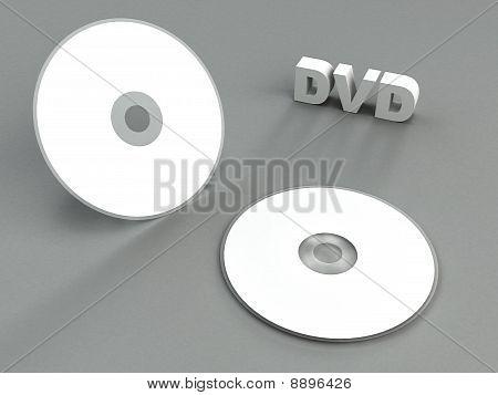Bright DVD design presentation template