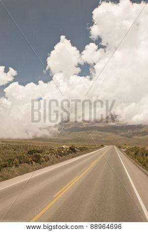 roadway near Arequipa