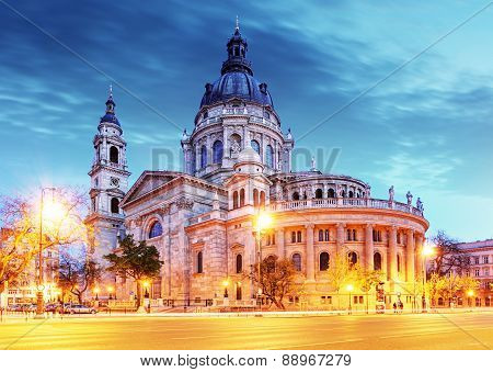 St. Stephen Basilica In Budapest
