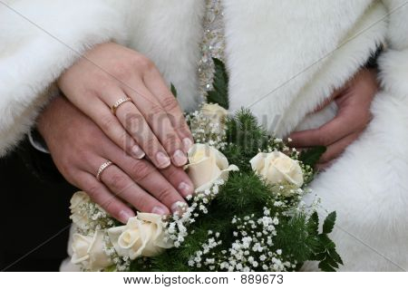 The Hands Newlyweds.