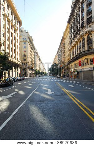City Street - Buenos Aires, Argentina