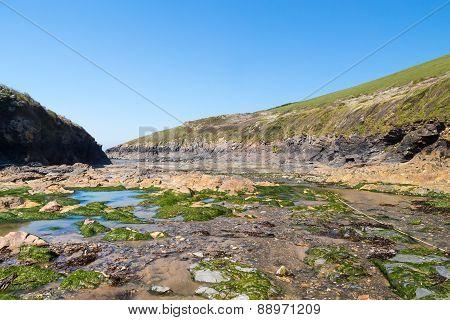 Port Quin Cornwall England