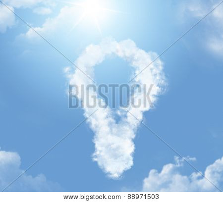 Symbol cloud shape