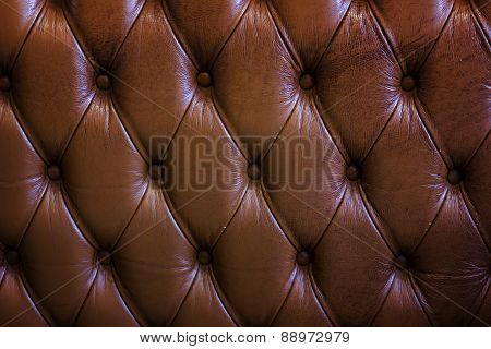 Leathers Texture Of Old Sofa