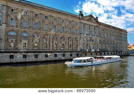Boat tour in Berlin, Germany.