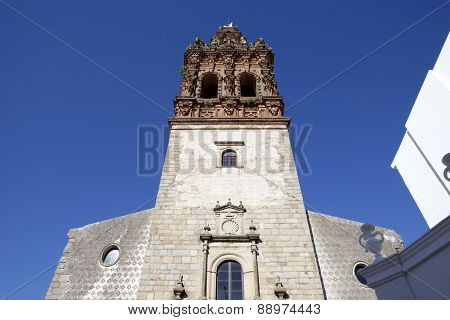 Tower Of San Miguel Church