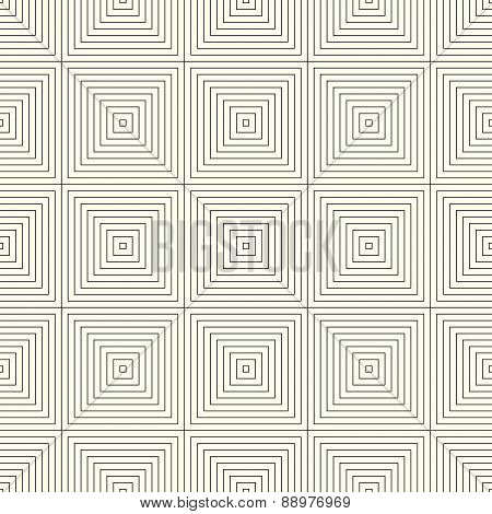 Pattern With Square Print, Seamlessly Repeatable Background