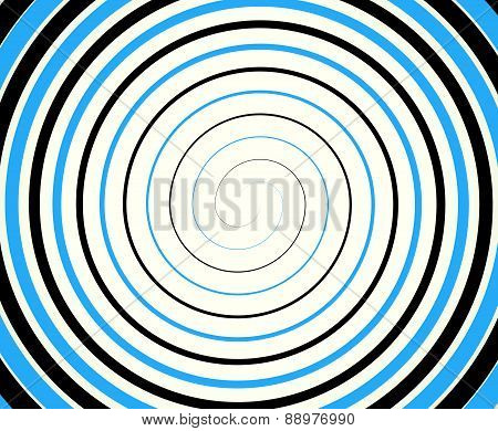 Black-blue Duotone Spiral  Element, Background. Editable Vector