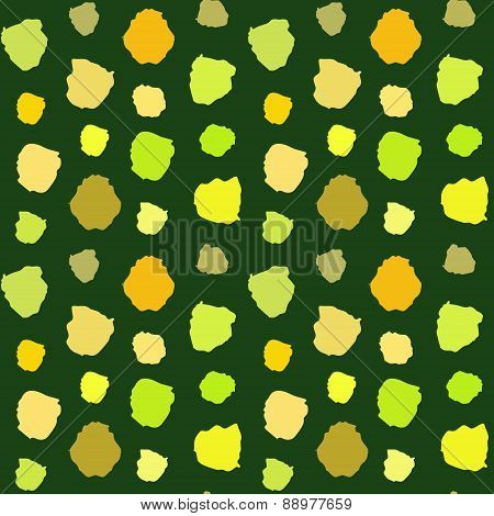 Green Blots Pattern