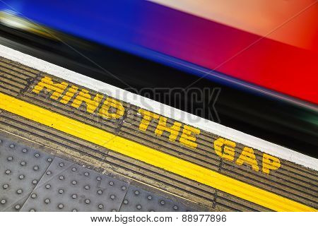 Famous Mind The Gap Sign