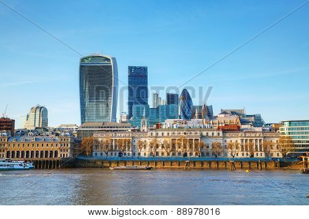Financial District Of London City