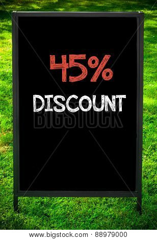 Forty-five Percent Discount