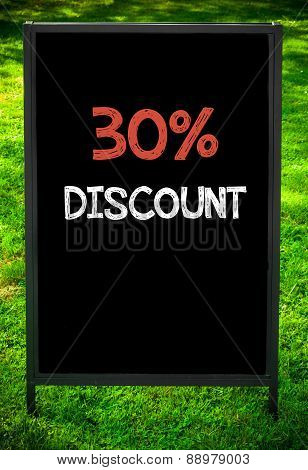 Thirty Percent Discount