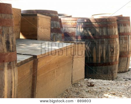 Crates And Barrels