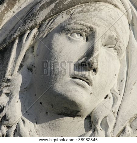 Virgin Mary (fragment)