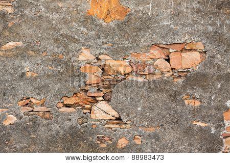 background - grunge stone wall