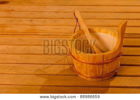 Sauna Interior And Accessories