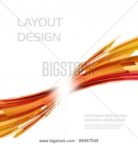 Business abstract background, Vector illustration