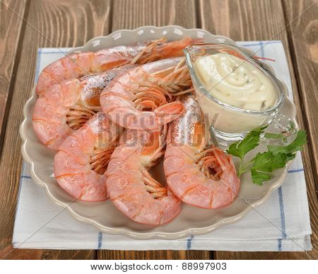 Boiled Langoustines