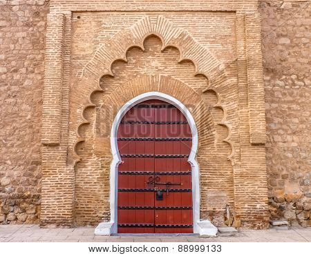 Koutoubia Mosque In Marrakesh Morocco