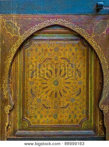 Ancient Moroccan Door
