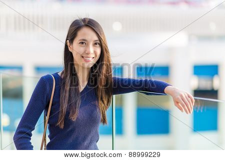 Asian woman at outdoor