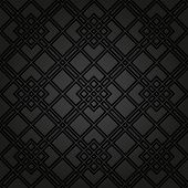 image of diagonal lines  - Geometric fine abstract vector pattern with black diagonal lines - JPG