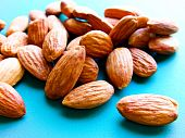 picture of seed bearing  - Almond trees become productive and begin bearing fruit after five years - JPG