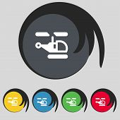 picture of helicopters  - Helicopter icon sign - JPG