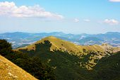 Постер, плакат: Красивые пейзажи гор в Апеннинах