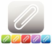 foto of appendicitis  - Paper clip clip icon element - JPG