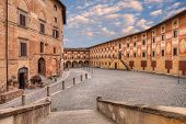 stock photo of leghorn  - Old catholic theological seminary in San Miniato - JPG