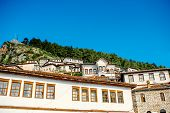 picture of albania  - Houses in city of Berat in Albania - JPG