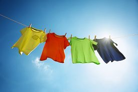 image of clotheslines  - T - JPG